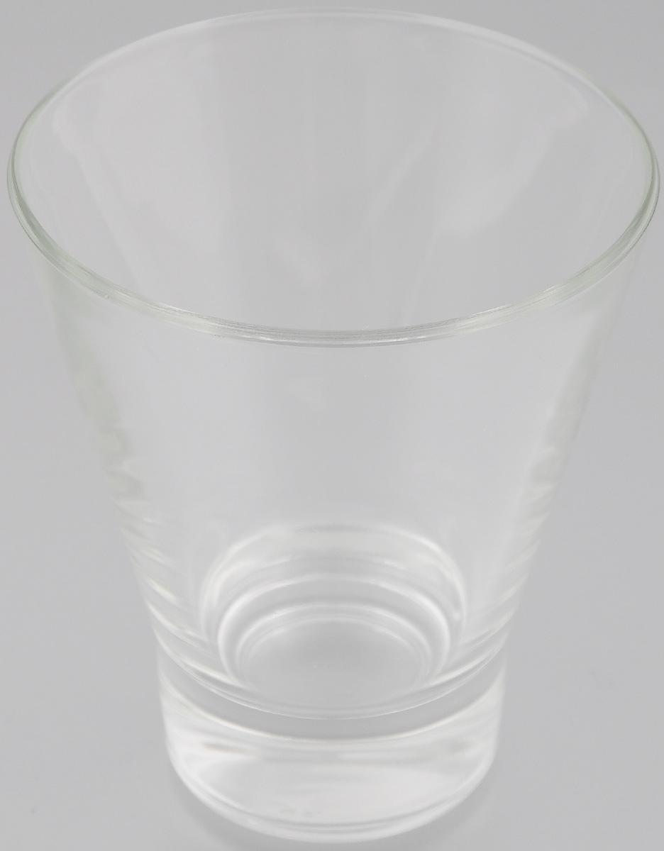 Стакан OSZ Bell, цвет: прозрачный, 250 мл стакан osz этюд цвет прозрачный 200 мл