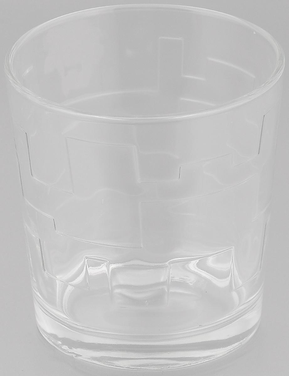 Стакан OSZ Лабиринт, цвет: прозрачный, 250 мл05С1262Стакан OSZ Лабиринт изготовлен из бесцветного стекла и украшен рельефными гранями. Идеально подходит для сервировки стола.Стакан не только украсит ваш кухонный стол и подчеркнет прекрасный вкус хозяйки. Диаметр стакана (по верхнему краю): 8 см. Диаметр основания: 6,5 см. Высота стакана: 8,5 см.