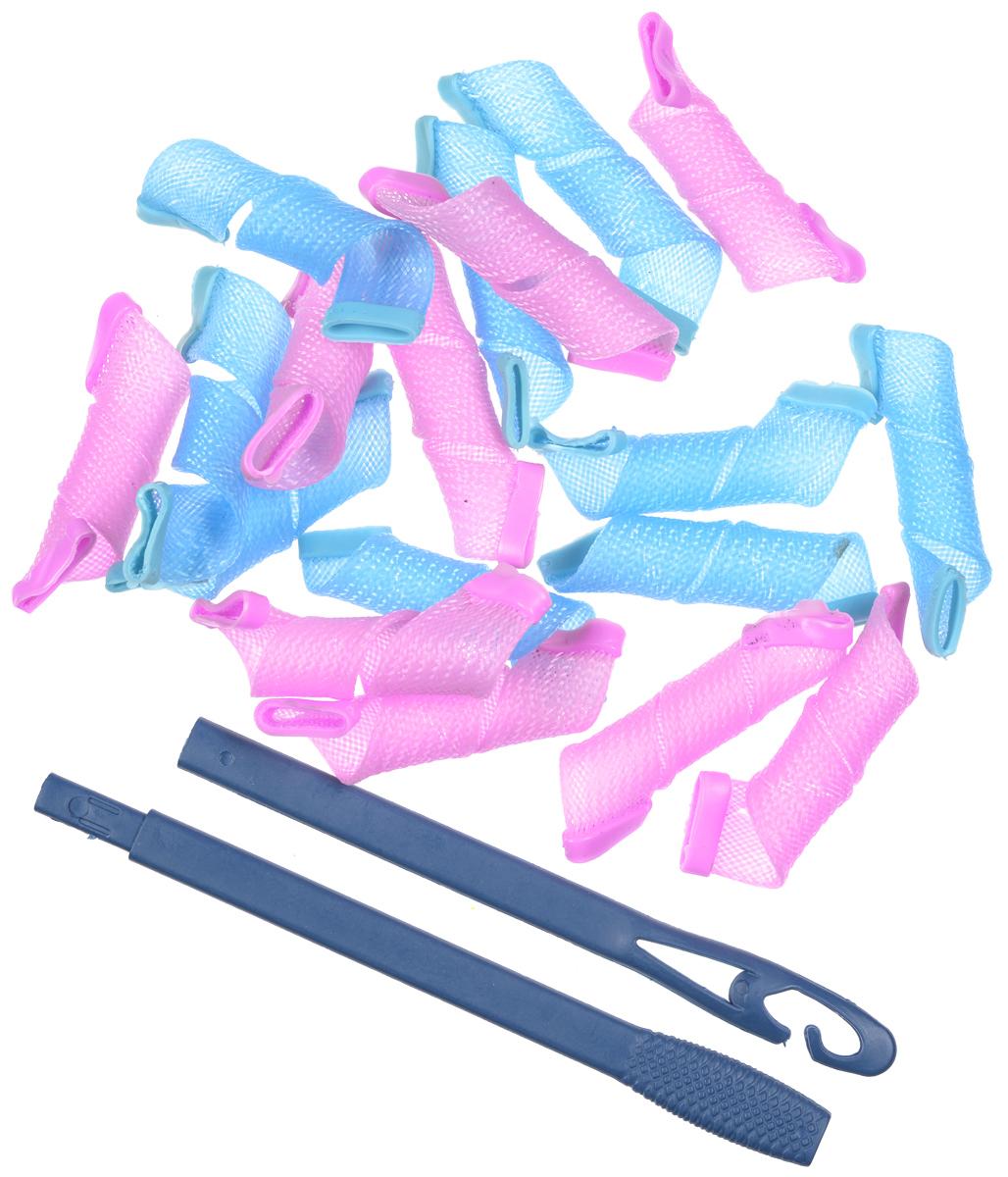 Magic Leverag Бигуди маленькие, цвет: в ассортименте, 18 х 15 см magic leverage крючок тройной для бигуди 56 см