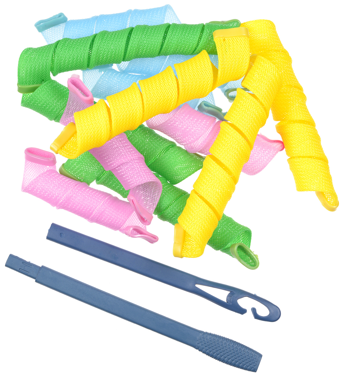 Magic Leverag Бигуди широкие, 6 х 29 см, 6 х 44 см magic leverage крючок тройной для бигуди 56 см