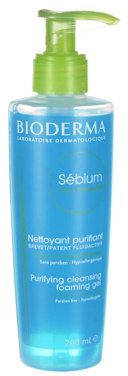 Bioderma очищающий мусс Sebium 200 млB028663IМягкое очищающее средство для жирной и комбинированной кожи, кожи с акне. Уменьшает секрецию кожного сала, и улучшает его качество благодаря себокорректирующему комплексу Флюидактив. Очищающая основа без щелочи гарантирует великолепную переносимость кожей и слизистой глаз.Мягко очищает и улучшает качество себума