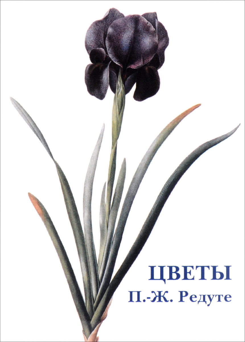 , Цветы (набор из 15 открыток)