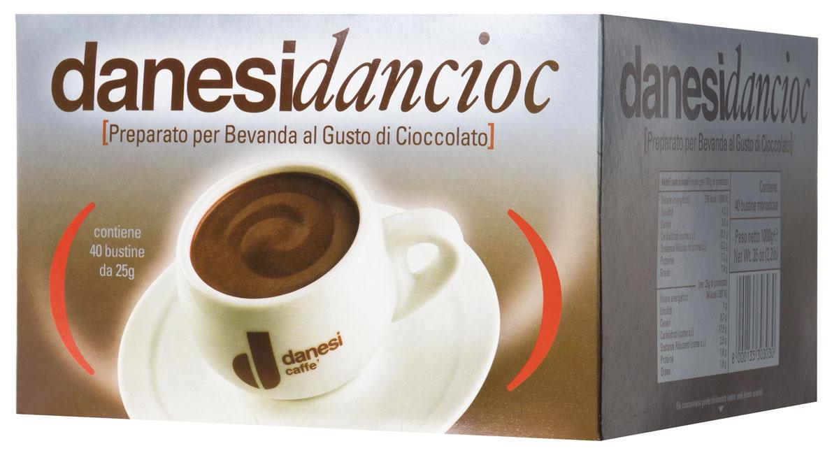 Danesi Dancioc горячий шоколад, 40 шт danesi gold кофе в зернах 250 г