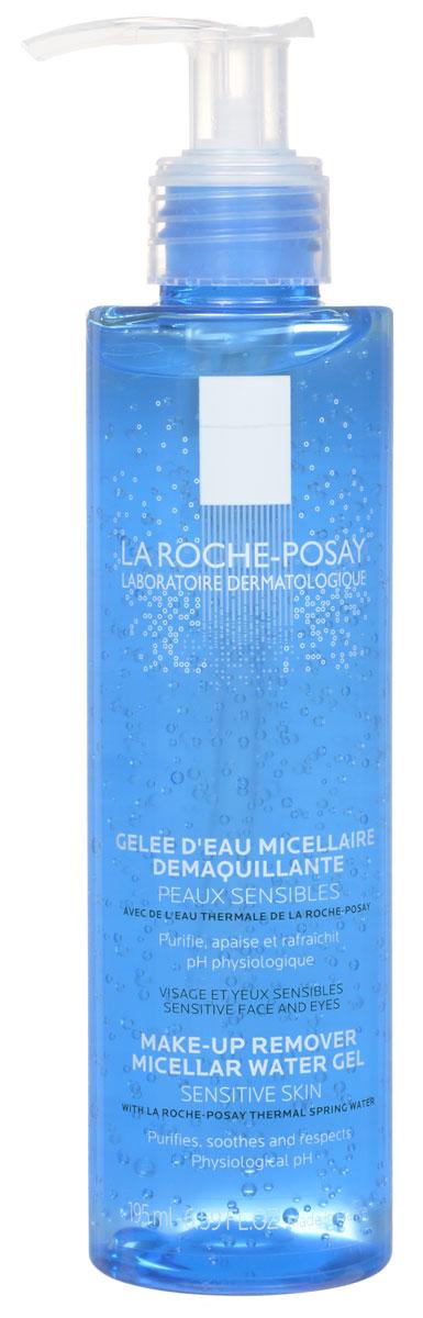 "La Roche-Posay Мицелярный гель для снятия макияжа ""Physiological Cleansers"", очищающий, для чувствительной кожи, 200 мл"
