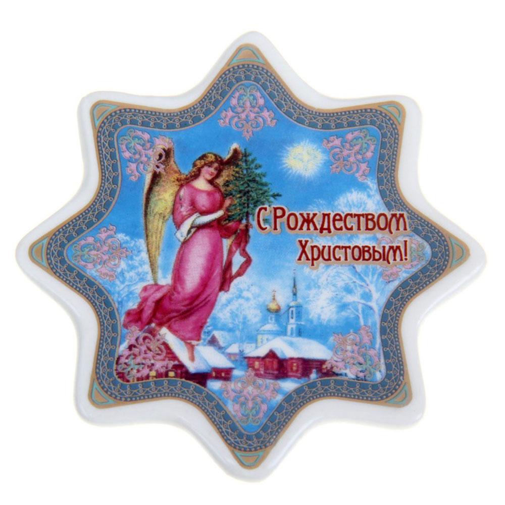 Магнит Sima-land Ангел, 7,5 х 7,5 см что в виде сувенира из туапсе