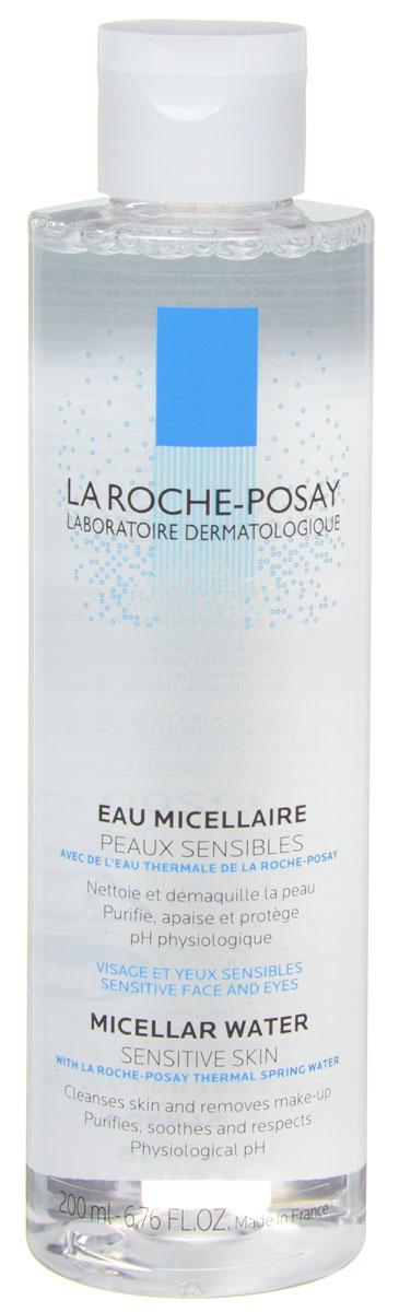 La Roche-Posay Мицеллярная вода Physiological Cleansers, для чувствительной кожи, 200 мл la roche posay мицеллярная вода ultra физио 200 мл