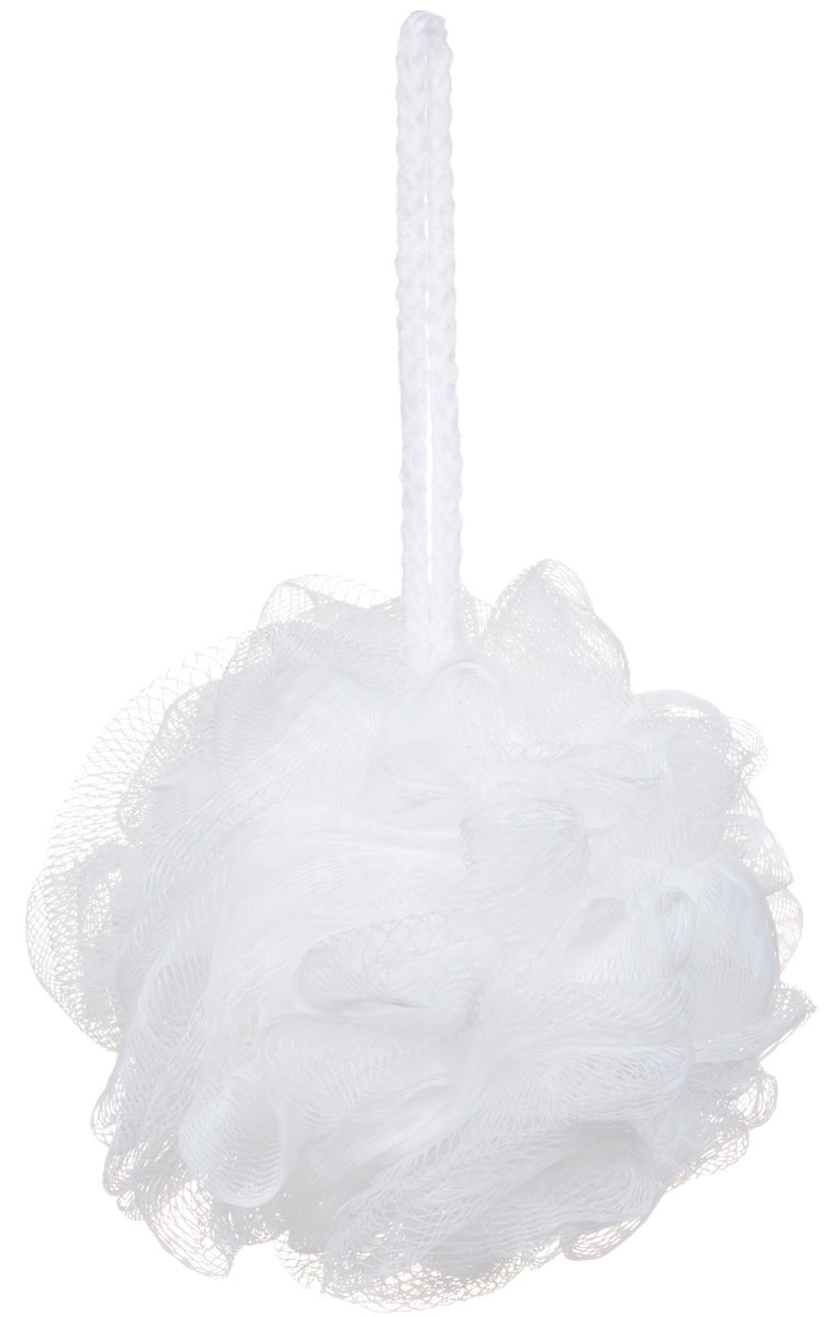"""Riffi Мочалка-губка """"Массажный цветок"""", средняя, цвет: белый. 340"""