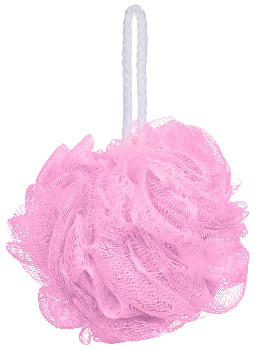 Riffi Мочалка-губка Массажный цветок, средняя, цвет: розовый. 340340_розовыйМочалка Riffi Массажный цветок не вызывает аллергии, обладает хорошими моющими и пилинговыми свойствами. Она дает много пены при малом количестве мыла или моющего геля. Для удобства применения снабжена веревочной петлей.Товар сертифицирован.