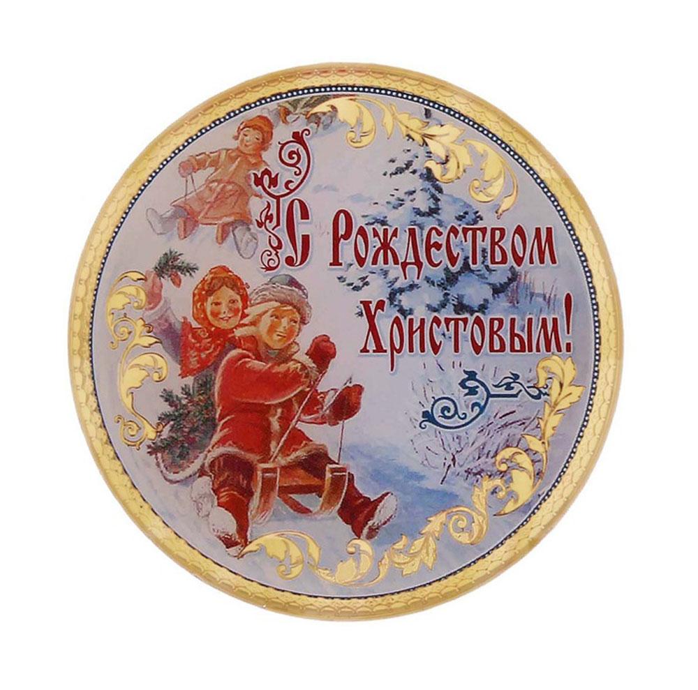 Магнит Sima-land С Рождеством Христовым. Горка, диаметр 6 см115788Магнит Sima-land С Рождеством Христовым. Горка, выполненный из пластика, станет приятным штрихом в повседневной жизни. Оригинальный магнит, декорированный изображением веселых детей на санках, поможет вам украсить не только холодильник, но и любую другую магнитную поверхность.