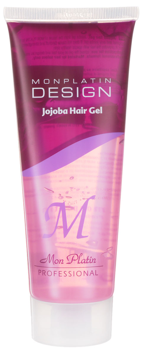Mon Platin Professional Гель для укладки волос с маслом жожоба 250млMP597В состав геля входит масло жожоба, противогрибковые компоненты, предотвращающие появление перхоти, а также активные вещества, регулирующие кислотно-щелочной баланс кожи головы. Благодаря своему составу гель не только обладает великолепными стайлинговыми свойствами, но и укрепляет волосы, предотвращает их выпадение, придает эластичность, естественный блеск и здоровый вид волосам. Для всех типов волос.