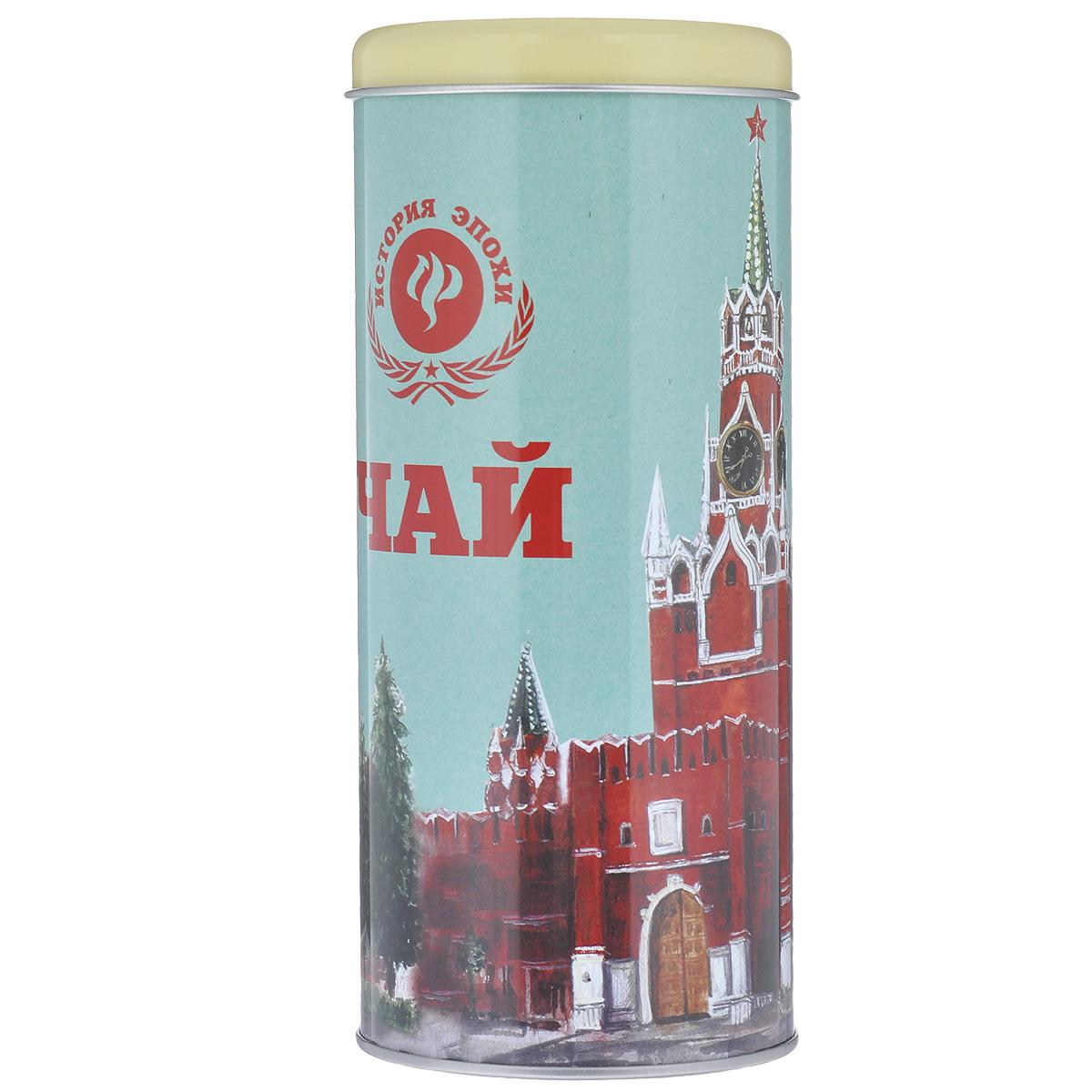 Банка для сыпучих продуктов Феникс-Презент Кремлевский чай, 750 мл банка для сыпучих продуктов феникс презент подснежники 1 8 л