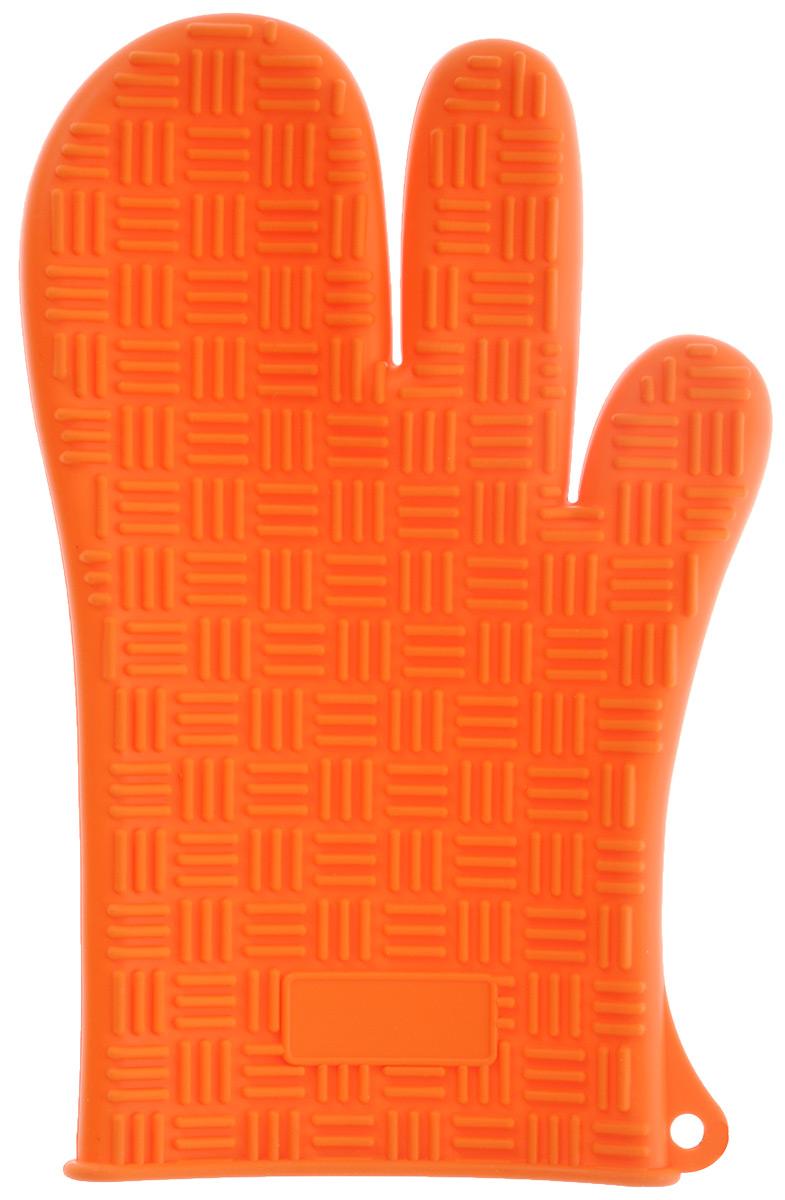 Прихватка-перчатка силиконовая Mayer & Boch, цвет: ярко-оранжевый, 27 см х 17 см21941Прихватка-перчатка Mayer & Boch изготовлена из прочного цветного силикона. Она способна выдерживать температуру от -60°C до +230°С. Эластична, износостойка, влагонепроницаема, легко моется, удобно и прочно сидит на руке. С помощью такой прихватки ваши руки будут защищены от ожогов, когда вы будете ставить в печь или доставать из нее выпечку.Можно мыть в посудомоечной машине.