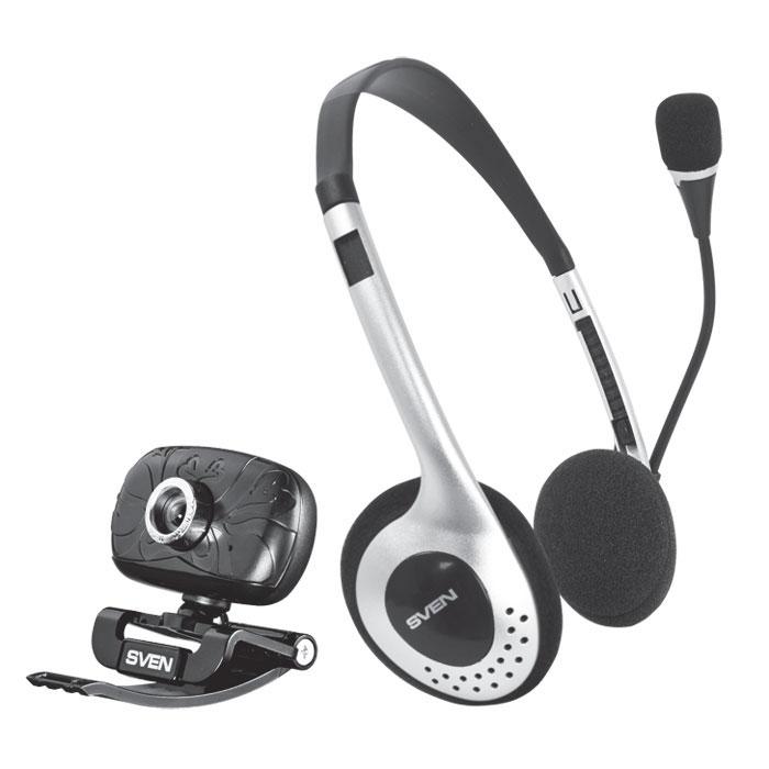 Sven ICH-3500 веб-камера + гарнитура - Веб-камеры