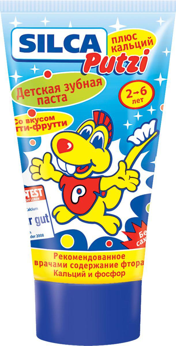 Silca Putzi Зубная паста Плюс кальций от 2 до 6 лет