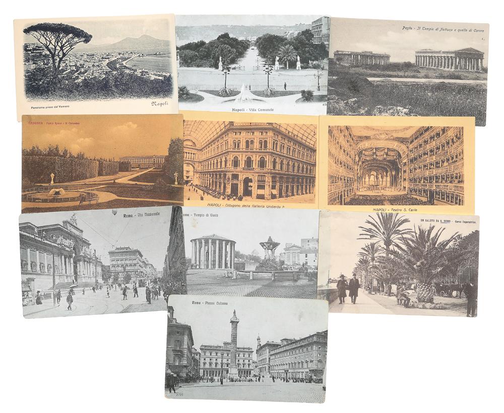 Италия. Комплект из 10 открыток