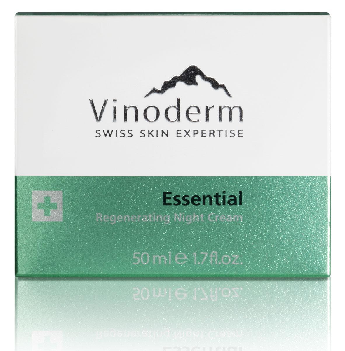 Vinoderm Крем ночной Essential регенерирующий для лица 50мл38010Смягчающий ночной крем нейтрализует воздействие стресса и негативных факторов окружающей среды. Благодаря экстрактам виноградной косточки, дрожжей и белого лотоса, запускается процесс обновления клеток кожи и поддерживается работа ее собственной защитной системы. Комплекс натуральных компонентов успокаивает и интенсивно увлажняет кожу в течение всей ночи. Ночь за ночью, крем эффективно восстанавливает кожу, борясь с ежедневным стрессом. Наутро ваша кожа выглядит гладкой и здоровой.