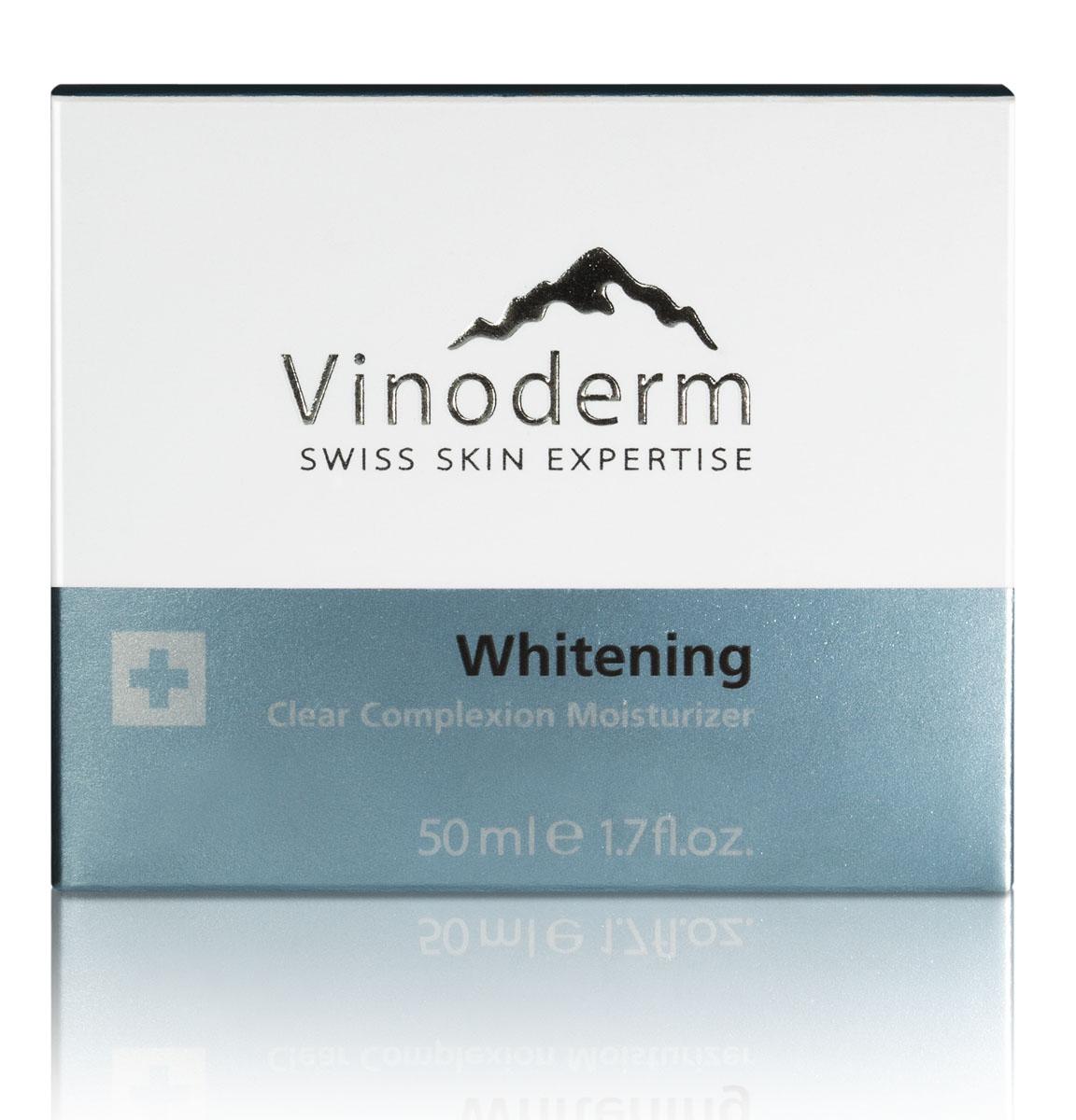 Vinoderm Комплекс осветляющий Whitening для улучшения цвета лица 50мл38018Шелковистый крем превосходно выравнивает тон кожи и обеспечивает длительное увлажнение и защиту от свободных радикалов. Благодаря экстракту виноградной косточки, новому осветляющему комплексу и гиалуроновой кислоте, крем эффективно осветляет кожу и борется с пигментными пятнами различного происхождения. Специальный увлажняющий комплекс наполняет кожу влагой. Ваша кожа становится безупречной и приобретает идеально ровный тон.