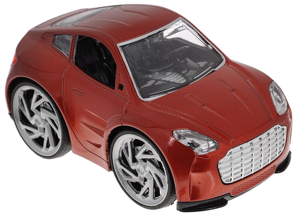 Tongde Машинка Молния цвет кирпичный машины tongde машинка на батарейках чудомобиль