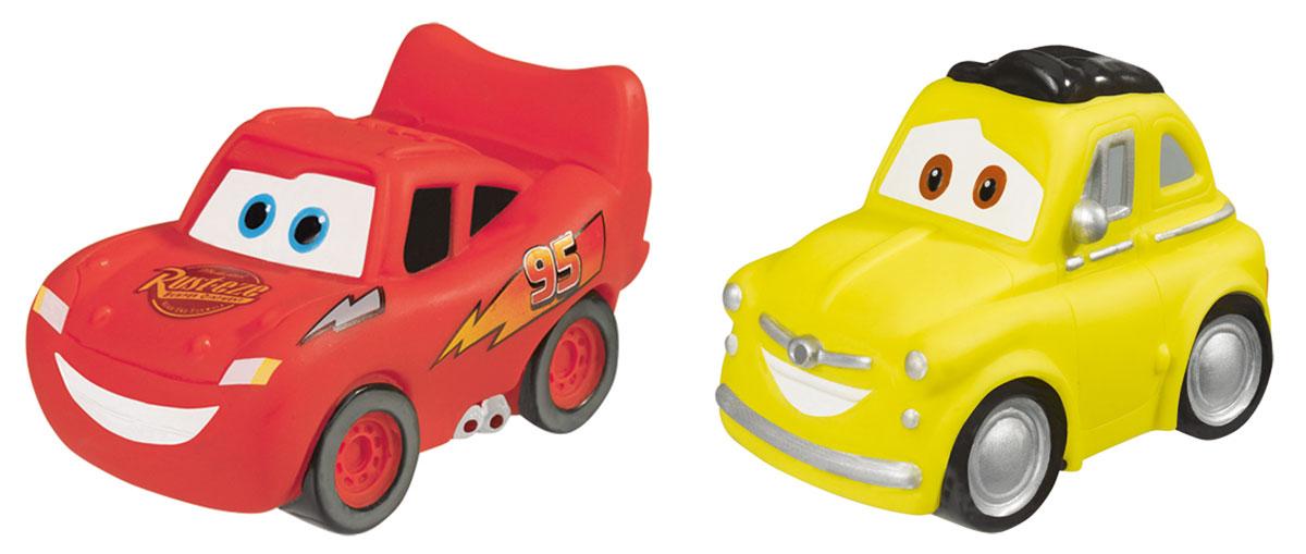 Simba Набор игрушек для ванны Тачки цвет красный желтый simba паровоз инерционный цвет желтый