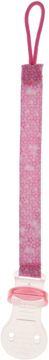 Bibi Клипса для пустышки Сезонная коллекция цвет розовый клипса пластиковая автомобильная для обивки ford 100шт jtc rd37