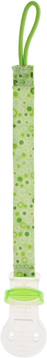 Bibi Клипса для пустышки Сезонная коллекция цвет зеленый babyono клипса держатель для пустышки коровка цвет бежевый