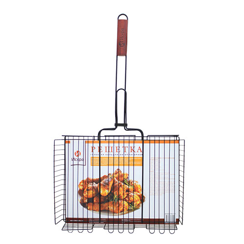 Решетка-гриль Искра, 71 х 41 х 8 см решетка гриль для мяса искра 30 х 24 см