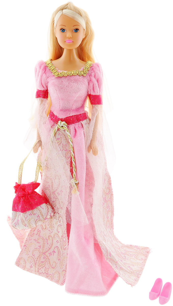 Simba Кукла Штеффи в Средневековье цвет платья розовый simba паровоз инерционный цвет желтый