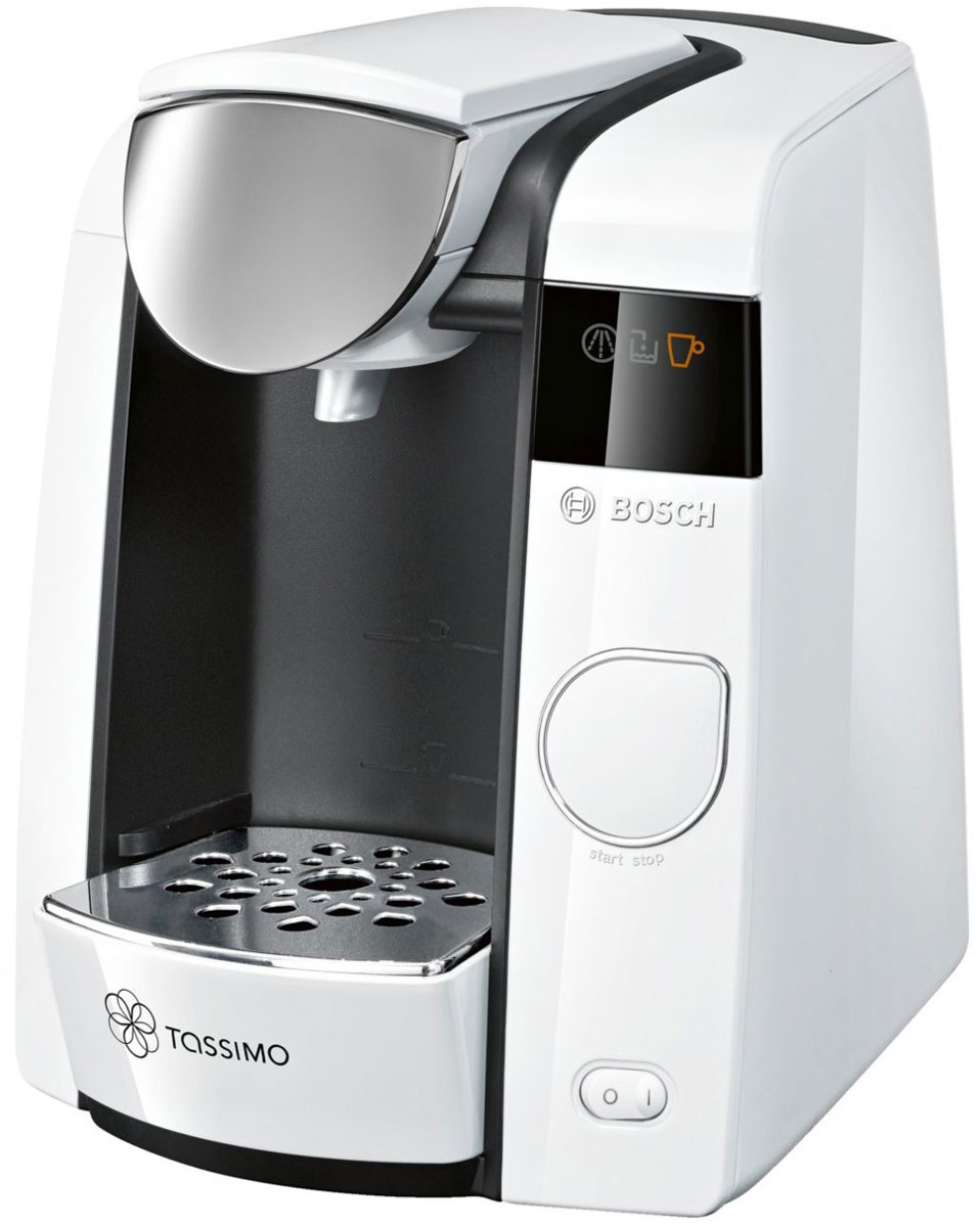 Bosch Tassimo Joy TAS4504, White капсульная кофемашина кофемашины bosch кофемашина bosch tes80329rw
