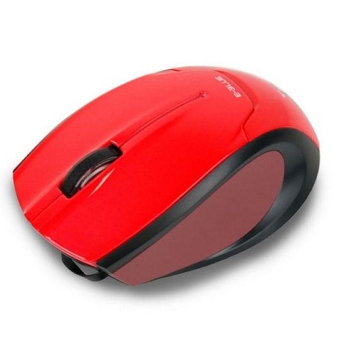 E-Blue EMS104 Extency, Red мышь проводнаяEMS104REМышь с выдвижным кабелем E-Blue EMS104 Extency - прекрасный аксессуар для тех, кто ценит стиль в сочетании с удобством и приемлемой ценой. Поверхность и форма корпуса мыши спроектирован таким образом, чтобы ваша рука не уставала в процессе длительного использования.Мышь оборудована оптическим сенсором, что дает ей возможность работать на любой поверхности, а специальный выдвижной кабель избавит от скопления проводов на вашем рабочем столе.