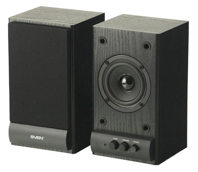 Sven SPS-607, Black акустическая система 2.0 - Колонки для компьютера