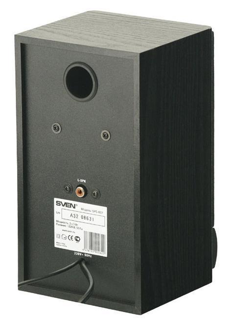 Sven SPS-607, Blackакустическая система 2. 0 Sven