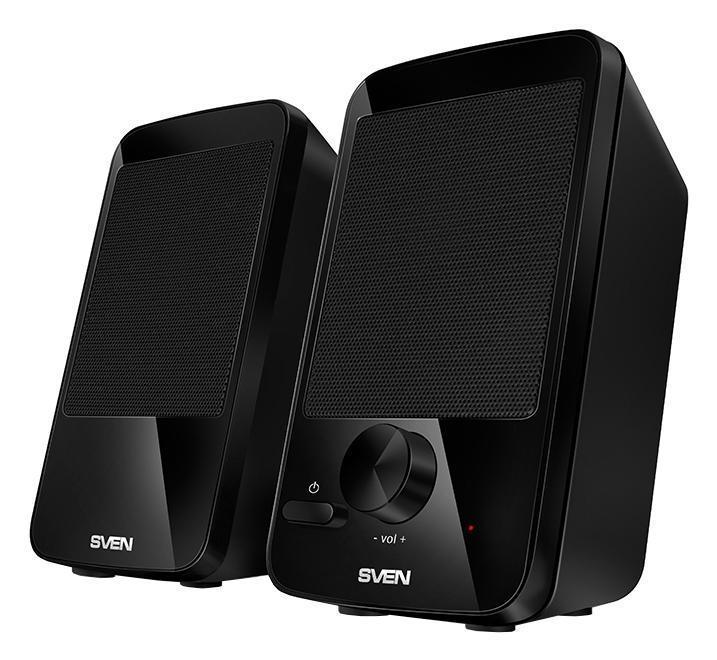 Sven 312, Black акустическая система 2.0 купить колонки sven sps 821