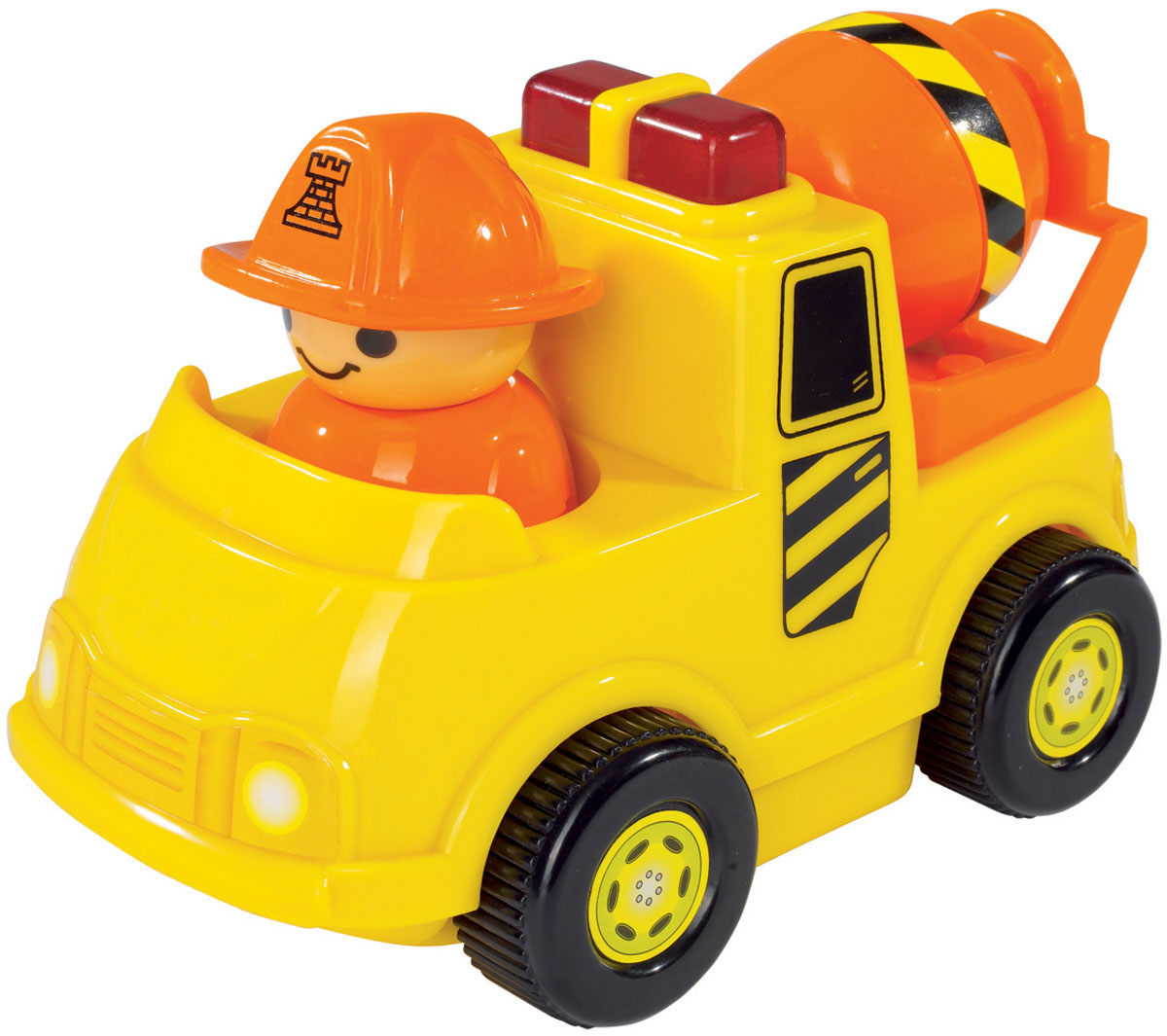 Simba Мини-машинка цвет цвет желтый simba паровоз инерционный цвет желтый