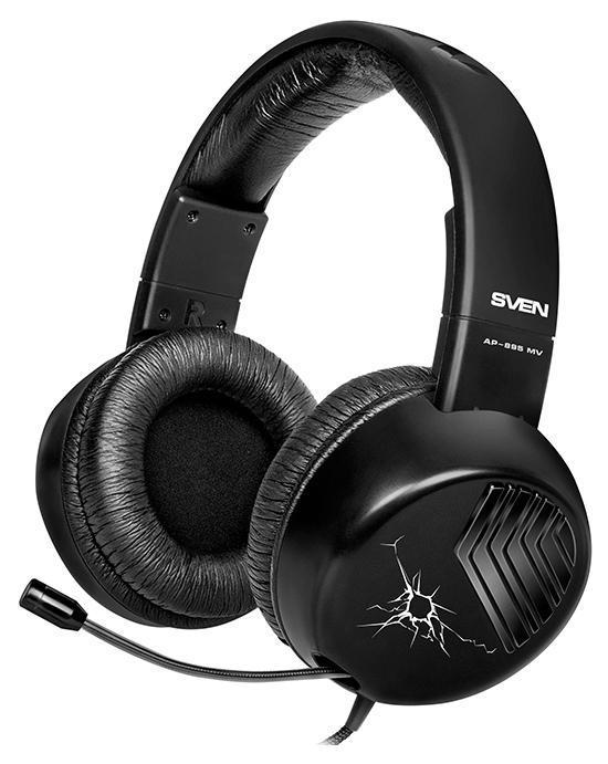 Sven AP-895MV, Black наушники с микрофоном - Офисные гарнитуры