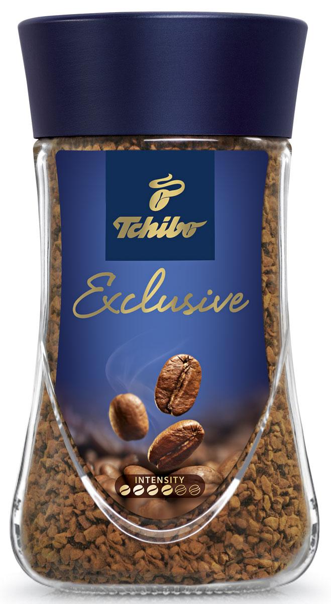Tchibo Exclusive кофе растворимый, 95 г476698Побалуйте себя и своих близких изысканным кофе Tchibo Exclusive. Его тонкий аромат и гармоничный вкус доставят вам непревзойденное удовольствие. Для создания этого купажа отбираются только лучшие зерна Арабики, которые дополняются зернами насыщенной Робусты.Кофе: мифы и факты. Статья OZON Гид