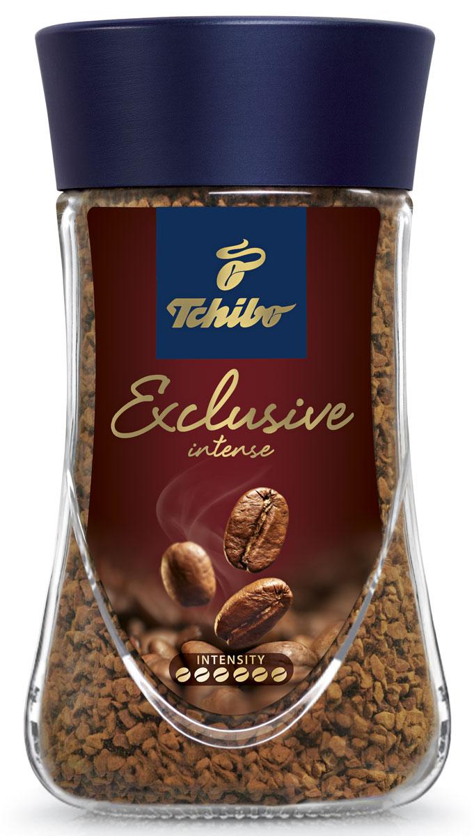 Tchibo Exclusive Intense кофе растворимый, 95 г476718Побалуйте себя и своих близких изысканным кофе Tchibo Exclusive Intense. Его богатый аромат и насыщенный вкус доставят вам непревзойдённое удовольствие. Для создания этого исключительного купажа эксперты Tchibo отбирают только лучшие зерна Арабики и дополняют их зернами насыщенной Робусты.Кофе: мифы и факты. Статья OZON Гид