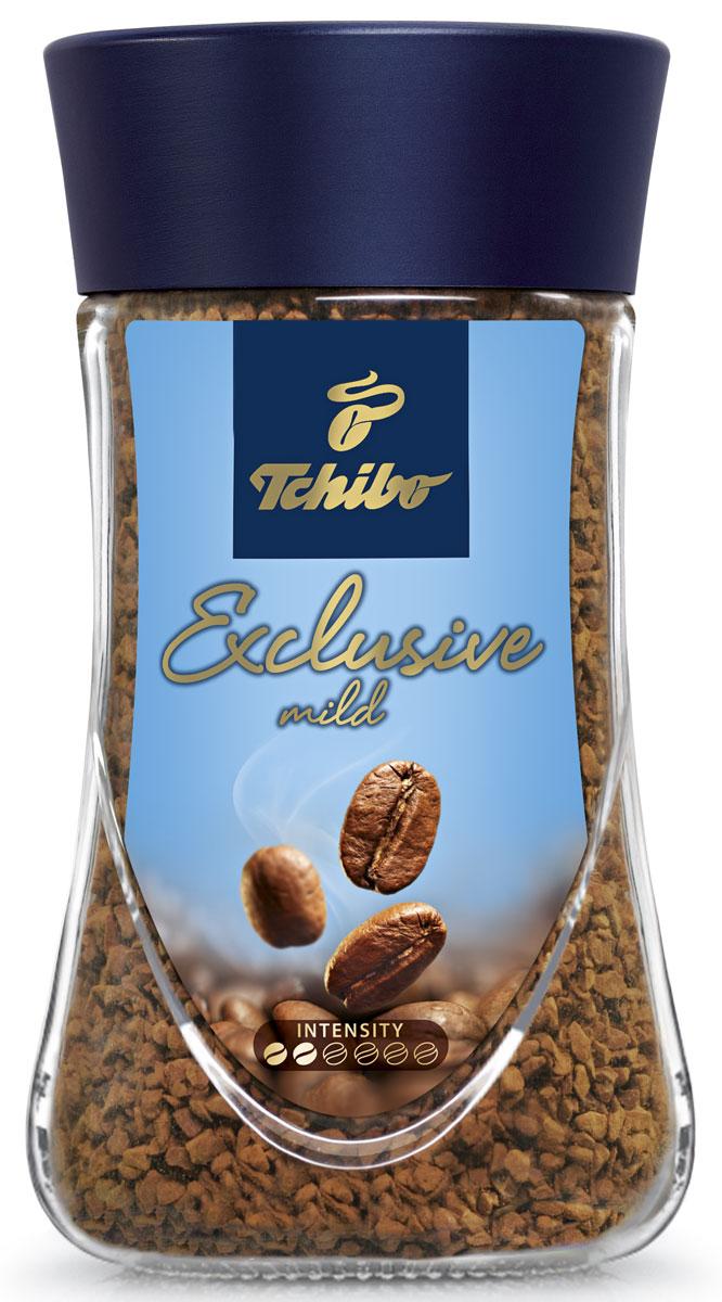 Tchibo Exclusive Mild кофе растворимый, 95 г лопатка tchibo