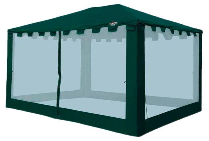 Тент CAMPACK-TENT G-3401,цвет: темно-зеленый38412Самая большая модель в G-серии. 4 на 3 метра. В 2013 году получила усиленный каркас из труб с толщиной стенки 0,8 мм. Два входа обеспечивают комфортное использование, москитная сетка защищает от надоедливых насекомых. Ткань тента:190T P. Taffeta PU 3000MMСетка:No-See-Um MeshСтойки:Сталь 25 мм, 19 мм, 16 мм. Состав материала: TaffetaЧто взять с собой в поход?. Статья OZON Гид
