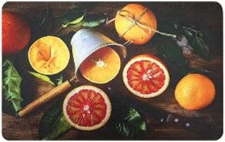 Коврик для кухни Апельсины, 45 х 75 см, SUNSTEP37-701Коврик для кухни Апельсины выполнен из полиэстера.Кухонный коврик можно использовать в качестве подставки на обеденном или разделочном столе, положить в сушилку или выдвижной ящик для столовых приборов.Изделие оформлено оригинальным принтом.