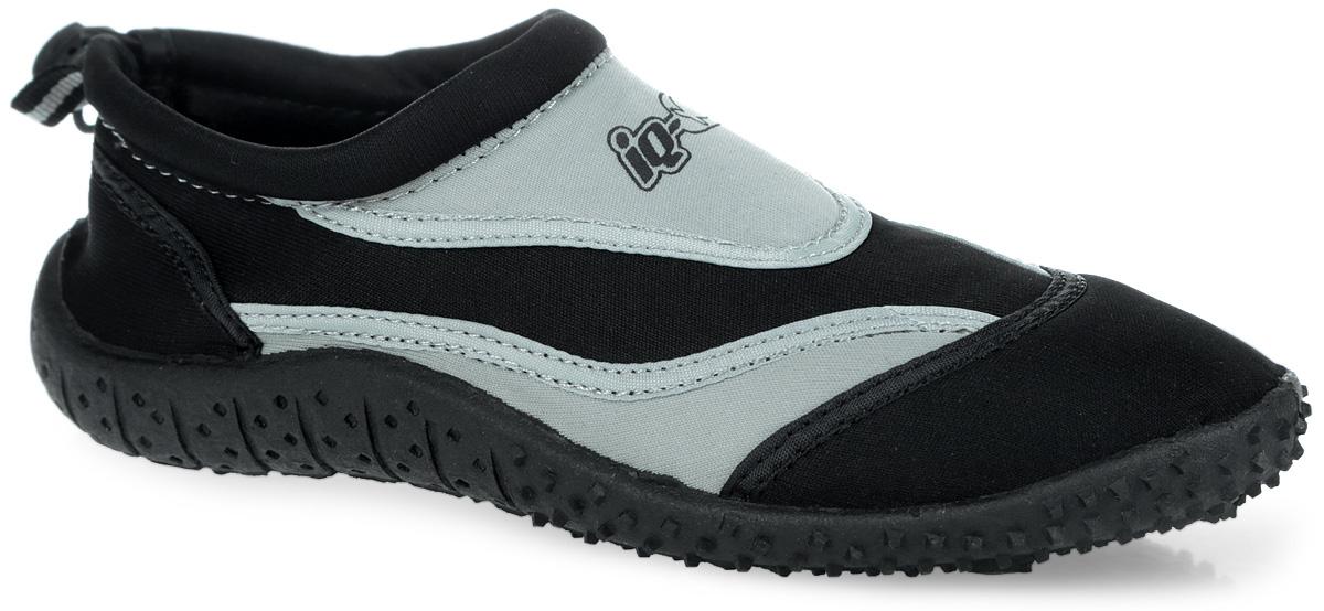 Обувь для кораллов iQ, цвет: черный, серый. 332515-2800. Размер 36