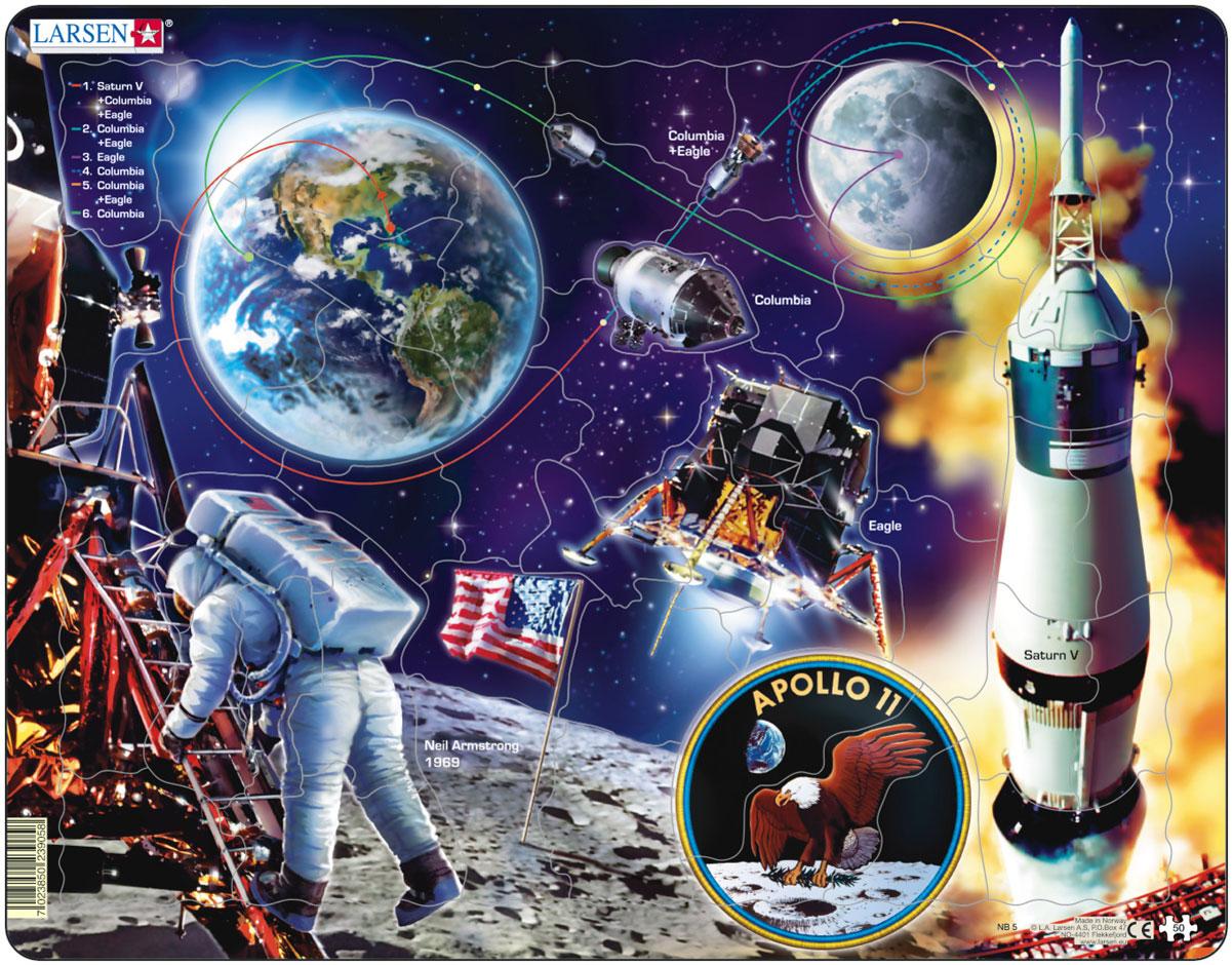Larsen Пазл Аполло 11