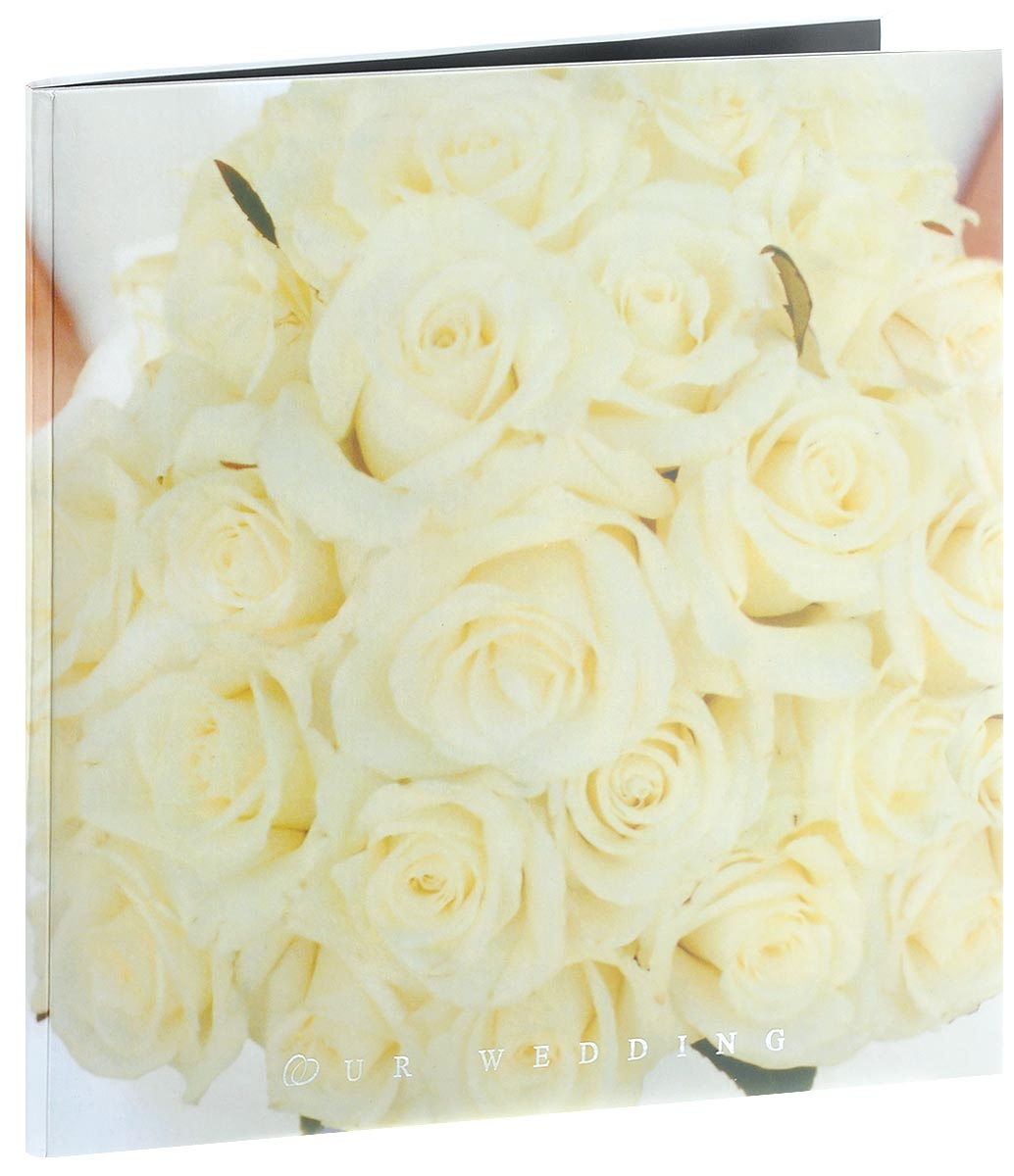"""Фотоальбом Pioneer """"Wedding Love. Белые розы"""", изготовленный из картона с клеевымпокрытием и пленки ПВХ, сохранит моменты ваших счастливых мгновений насвоих страницах! Обложка оформлена ярким изображением цветов. Альбом с """"магнитными""""листами удобен тем, что он позволяет размещать фотографии разных размеров.""""Магнитные"""" страницы обладают следующими преимуществами: - Не нужно прикладывать усилий для закрепления фотографий, - Не нужно заботиться о размерах фотографий, так как вы можете вставить вальбом фотографии разных размеров, - Защита фотографий от постоянных прикосновений зрителей с помощью пленки ПВХ.Нам всегда так приятно вспоминать о самых счастливых моментах жизни, запечатленных нафотографиях. Поэтому фотоальбом является универсальным подарком к любому празднику.Вашим родным, близким и просто знакомым будет приятно помещать фотографии в этотальбом.Количество листов: 10 шт.Размер листа: 29 см х 32 см."""