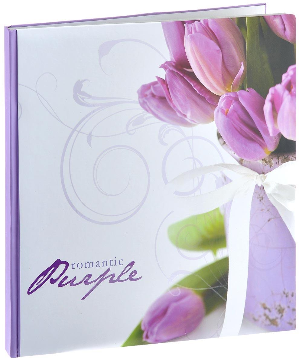 """Фотоальбом Pioneer """"Romantic Flower. Тюльпаны"""", изготовленный из картона с клеевым покрытием и пленки ПВХ, сохранит моменты ваших счастливых мгновений на своих страницах! Альбом с """"магнитными"""" листами удобен тем, что он позволяет размещать фотографии разных размеров. """"Магнитные"""" страницы обладают следующими преимуществами: - Не нужно прикладывать усилий для закрепления фотографий, - Не нужно заботиться о размерах фотографий, так как вы можете вставить в альбом фотографии разных размеров, - Защита фотографий от постоянных прикосновений зрителей с помощью пленки ПВХ.Нам всегда так приятно вспоминать о самых счастливых моментах жизни, запечатленных на фотографиях. Поэтому фотоальбом является универсальным подарком к любому празднику. Вашим родным, близким и просто знакомым будет приятно помещать фотографии в этот альбом.Количество листов: 10 шт.Размер листа: 29 см х 32 см."""