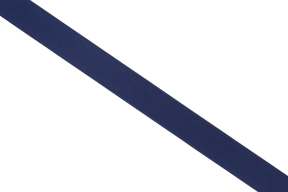 Лента атласная Prym, цвет: темно-синий, ширина 15 мм, длина 25 м695803_57Атласная лента Prym изготовлена из 100% полиэстера. Область применения атласной ленты весьма широка. Изделие предназначено для оформления цветочных букетов, подарочных коробок, пакетов. Кроме того, она с успехом применяется для художественного оформления витрин, праздничного оформления помещений, изготовления искусственных цветов. Ее также можно использовать для творчества в различных техниках, таких как скрапбукинг, оформление аппликаций, для украшения фотоальбомов, подарков, конвертов, фоторамок, открыток и многого другого.Ширина ленты: 15 мм.Длина ленты: 25 м.