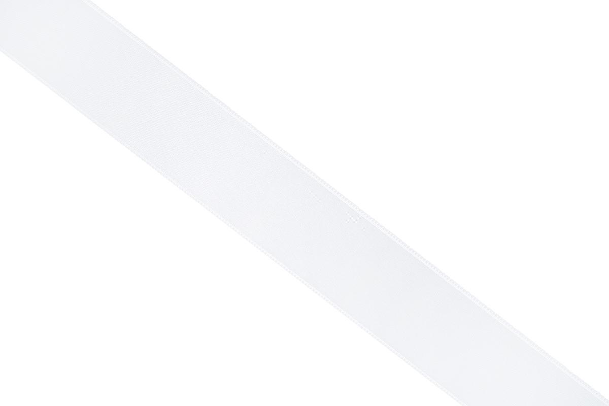 Лента атласная Prym, цвет: белый, ширина 25 мм, длина 25 м695804_10Атласная лента Prym изготовлена из 100% полиэстера. Область применения атласной ленты весьма широка. Изделие предназначено для оформления цветочных букетов, подарочных коробок, пакетов. Кроме того, она с успехом применяется для художественного оформления витрин, праздничного оформления помещений, изготовления искусственных цветов. Ее также можно использовать для творчества в различных техниках, таких как скрапбукинг, оформление аппликаций, для украшения фотоальбомов, подарков, конвертов, фоторамок, открыток и многого другого.Ширина ленты: 25 мм.Длина ленты: 25 м.