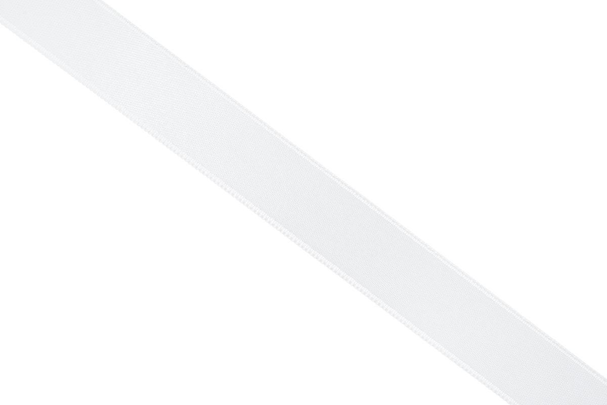 Лента атласная Prym, цвет: белый, ширина 15 мм, длина 25 м695803_10Атласная лента Prym изготовлена из 100% полиэстера. Область применения атласной ленты весьма широка. Изделие предназначено для оформления цветочных букетов, подарочных коробок, пакетов. Кроме того, она с успехом применяется для художественного оформления витрин, праздничного оформления помещений, изготовления искусственных цветов. Ее также можно использовать для творчества в различных техниках, таких как скрапбукинг, оформление аппликаций, для украшения фотоальбомов, подарков, конвертов, фоторамок, открыток и многого другого.Ширина ленты: 15 мм.Длина ленты: 25 м.