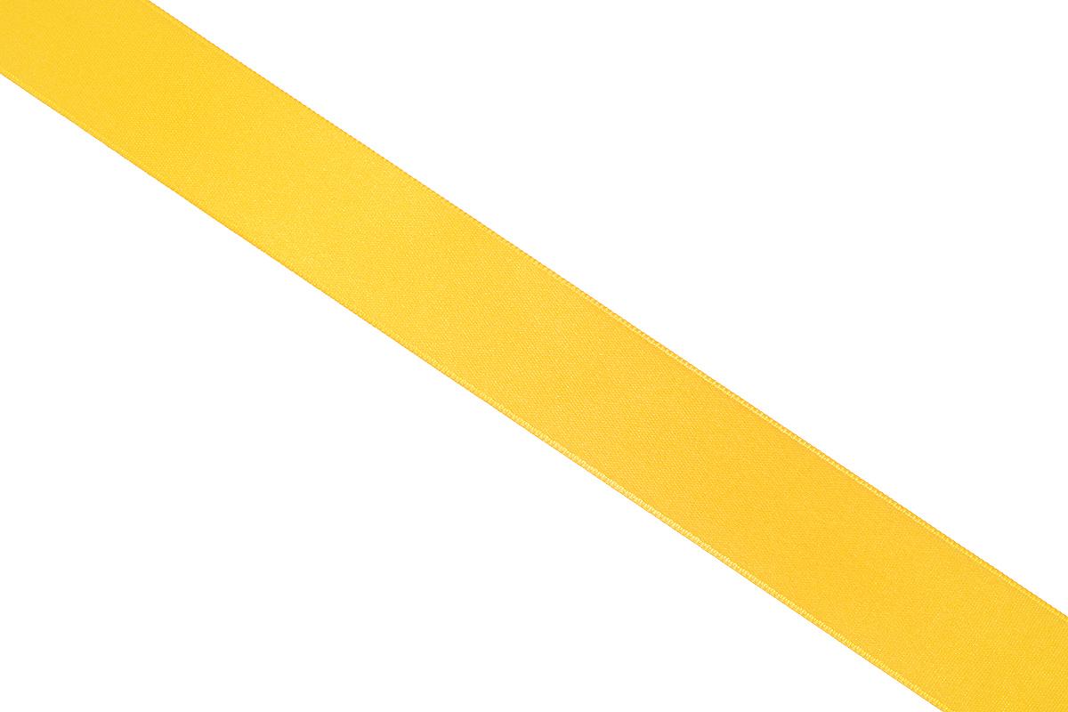 Лента атласная Prym, цвет: темно-желтый, ширина 25 мм, длина 25 м695804_32Атласная лента Prym изготовлена из 100% полиэстера. Область применения атласной ленты весьма широка. Изделие предназначено для оформления цветочных букетов, подарочных коробок, пакетов. Кроме того, она с успехом применяется для художественного оформления витрин, праздничного оформления помещений, изготовления искусственных цветов. Ее также можно использовать для творчества в различных техниках, таких как скрапбукинг, оформление аппликаций, для украшения фотоальбомов, подарков, конвертов, фоторамок, открыток и многого другого.Ширина ленты: 25 мм.Длина ленты: 25 м.