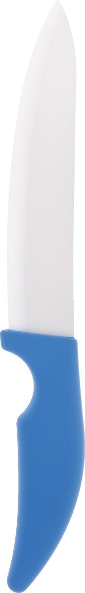 Нож кухонный Miolla, керамический, длина лезвия 10 см1508232UНож Miolla изготовлен из высококачественной керамики - гигиеничного, экологически чистого материала. Не требует заточки. Обеспечивает исключительную точность и чистоту нарезки. Экологически чистое, гипоаллергенное, коррозионностойкое лезвие. Не влияет на вкус пищи и не провоцирует возникновение посторонних запахов. Препятствует налипанию и окислению фруктов и овощей в процессе резки. Легкость в уходе - достаточно промыть водой. Общая длина ножа: 20 см.