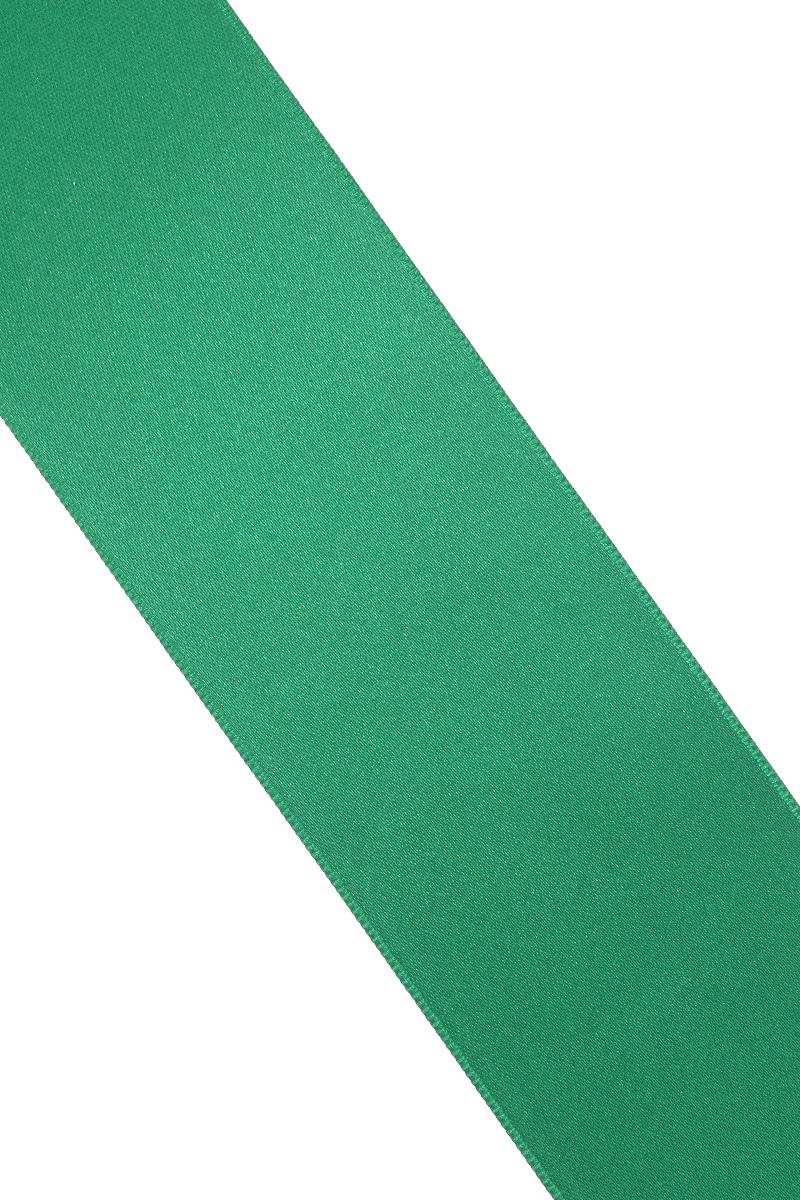 Лента атласная Prym, цвет: зеленый, ширина 50 мм, длина 25 м695807_43Атласная лента Prym изготовлена из 100% полиэстера. Область применения атласной ленты весьма широка. Изделие предназначено для оформления цветочных букетов, подарочных коробок, пакетов. Кроме того, она с успехом применяется для художественного оформления витрин, праздничного оформления помещений, изготовления искусственных цветов. Ее также можно использовать для творчества в различных техниках, таких как скрапбукинг, оформление аппликаций, для украшения фотоальбомов, подарков, конвертов, фоторамок, открыток и многого другого.Ширина ленты: 50 мм.Длина ленты: 25 м.