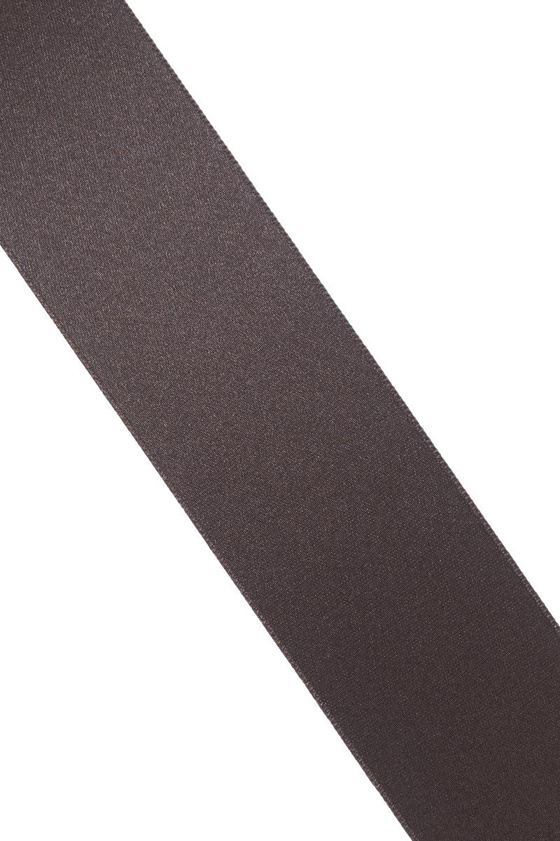 """Лента атласная """"Prym"""", цвет: темно-коричневый, ширина 38 мм, длина 25 м"""